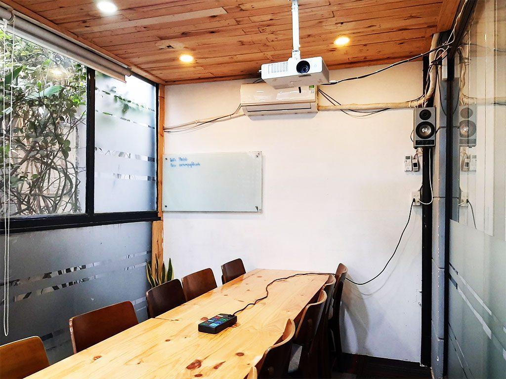 Cho thuê phòng họp theo giờ TPHCM - The bib Space