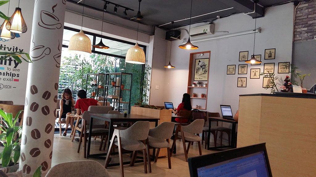 Chỗ ngồi làm việc quận Phú Nhuận giá rẻ tại The Bib Space