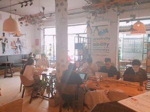 Co-working space giá rẻ quận Phú Nhuận The bib Space