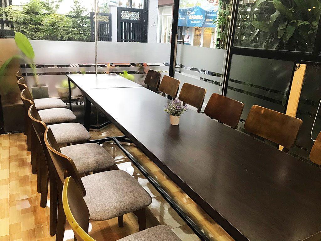 Cho thuê phòng họp có tivi và bảng bút giá rẻ quận 1 tphcm 15 người the bib space