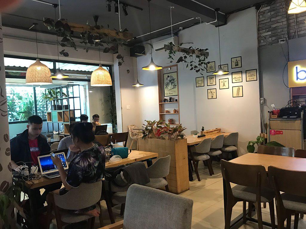 Co-working space giá rẻ quận Phú Nhuận, quận 1, quận Bình Thạnh, quận 3 The bib Space