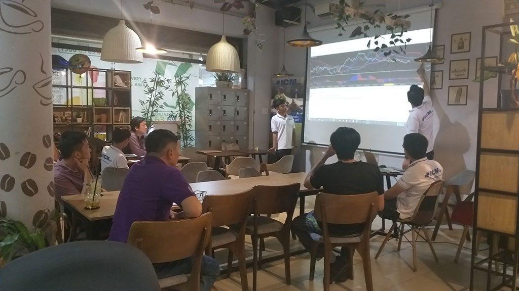 Không gian sự kiện 16 người có máy chiếu gia rẻ tại quận Phú Nhuận HCM The bib Space