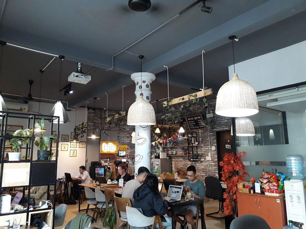 Không gian văn phòng mở hiện đại giá rẻ tại quận Phú Nhuận HCM The bib Space