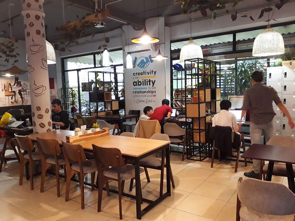 Văn phòng chia sẻ tiện lợi và cố định giá rẻ tại quận Phú Nhuận HCM The bib Space