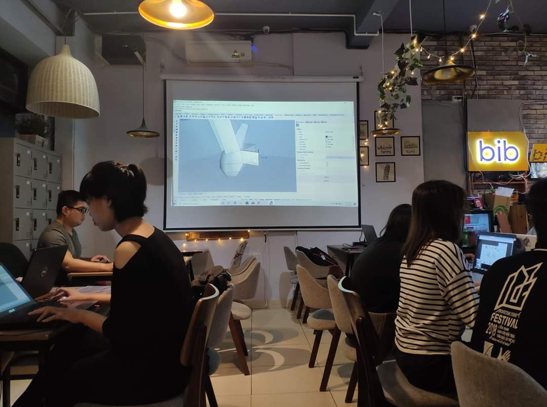 Cho thuê phòng họp giá rẻ dạy học và họp nhóm có máy chiếu 10 người quận Phú Nhuận HCM The bib Space