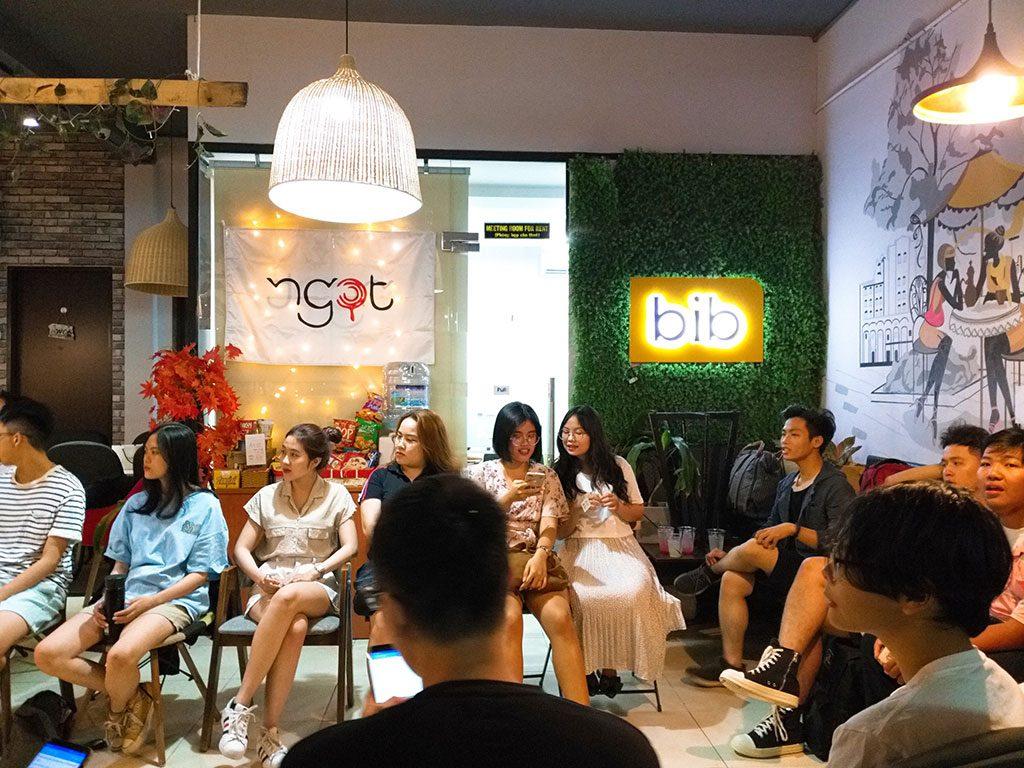 Không gian cho thuê tổ chức offline 40 người có thức uống giá rẻ tại quận Phú Nhuận HCM The bib Space