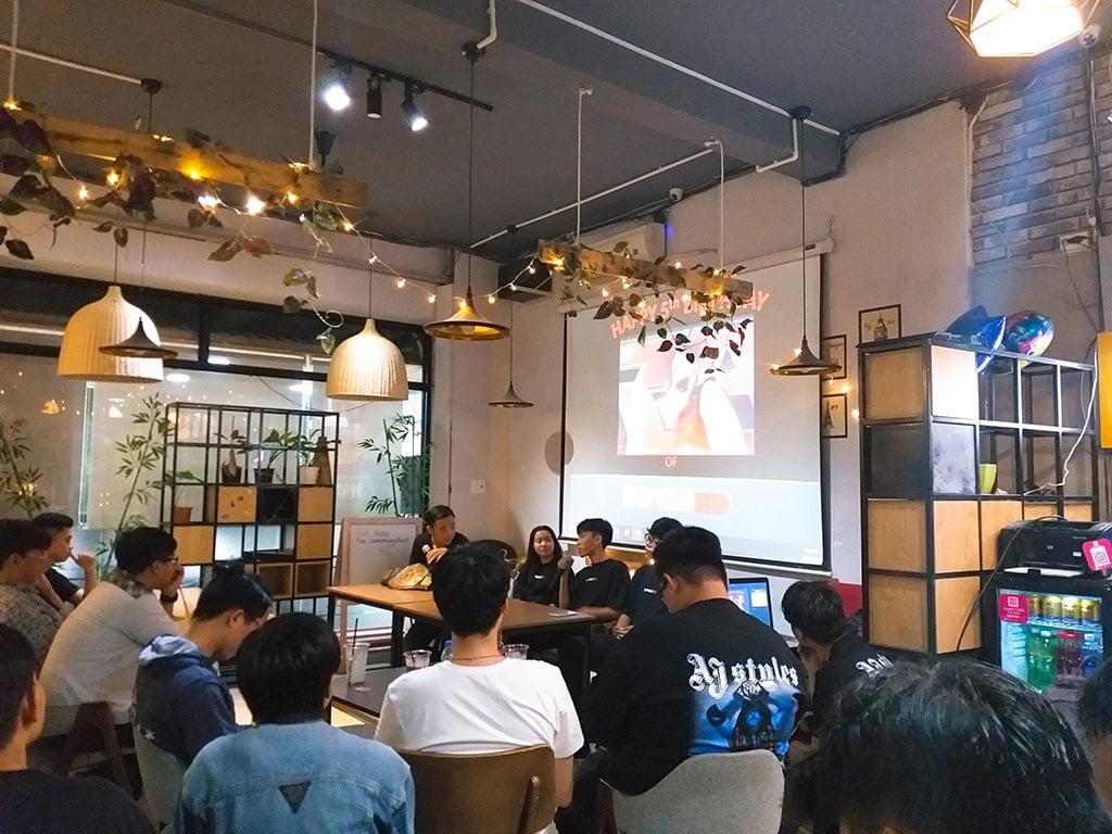 Không gian hội nghị giá rẻ 30 người có thức uống tại quận Phú Nhuận HCM The bib Space