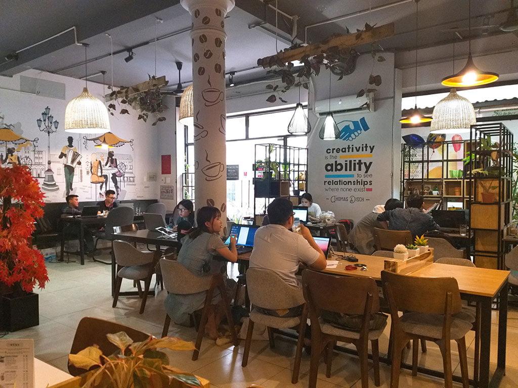 Không gian làm việc xanh văn phòng giá rẻ tại quận Phú Nhuận HCM The bib Space