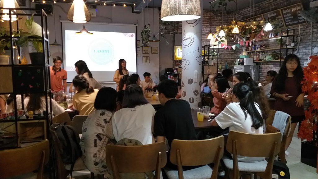 Không gian tổ chức offline 30 người có thức uống giá rẻ tại quận Phú Nhuận HCM The bib Space