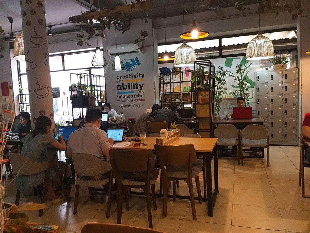 Văn phòng làm việc chia sẻ giá rẻ tại quận Phú Nhuận HCM The bib Space