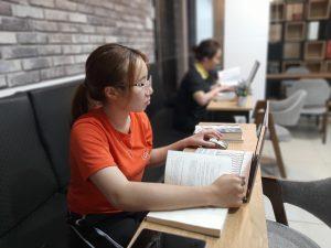 Cho thuê chỗ ngồi làm việc HCM Phú Nhuận yên tĩnh tiện nghi chỉ 1tr/tháng - The bib Space