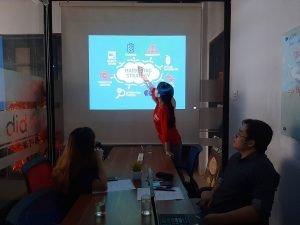 Cho thuê phòng họp có máy chiếu tại quận Phú Nhuận quận 1 quận Bình Thạnh TPHCM 7 người The bib Space.