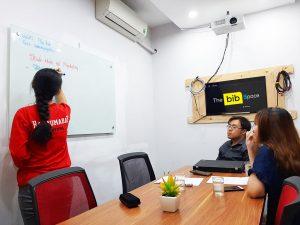 Cho thuê phòng làm việc 6 người Phú Nhuận HCM The bib Space