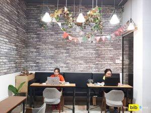 Chỗ ngồi làm việc giá rẻ quận Phú Nhuận 1tr/người The bib Space