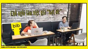 Chỗ ngồi làm việc giá rẻ quận Phú Nhuận tại The Bib Space