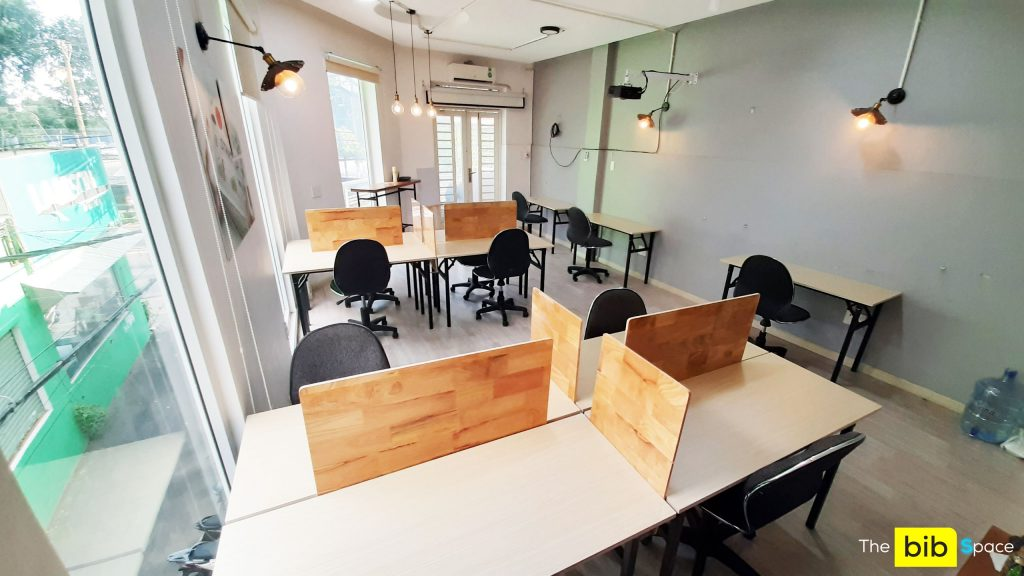 Chỗ ngồi làm việc quận Gò Vấp giá rẻ The bib Space