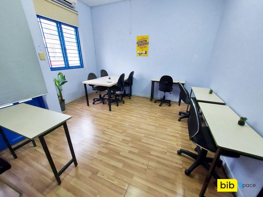 Văn phòng có sẵn nội thất giá rẻ Phùng Văn Cung quận Phú Nhuận The bib Space